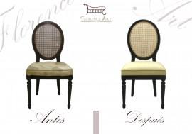 Restauración integral de silla