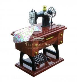 Maquina de coser miniatura