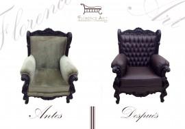Restauración integral de sillón