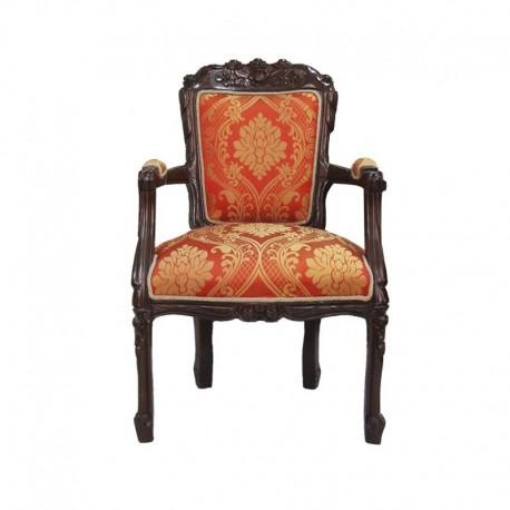 Sill n modelo rosas estilo luis xv florence art muebles for Recamaras estilo luis 15