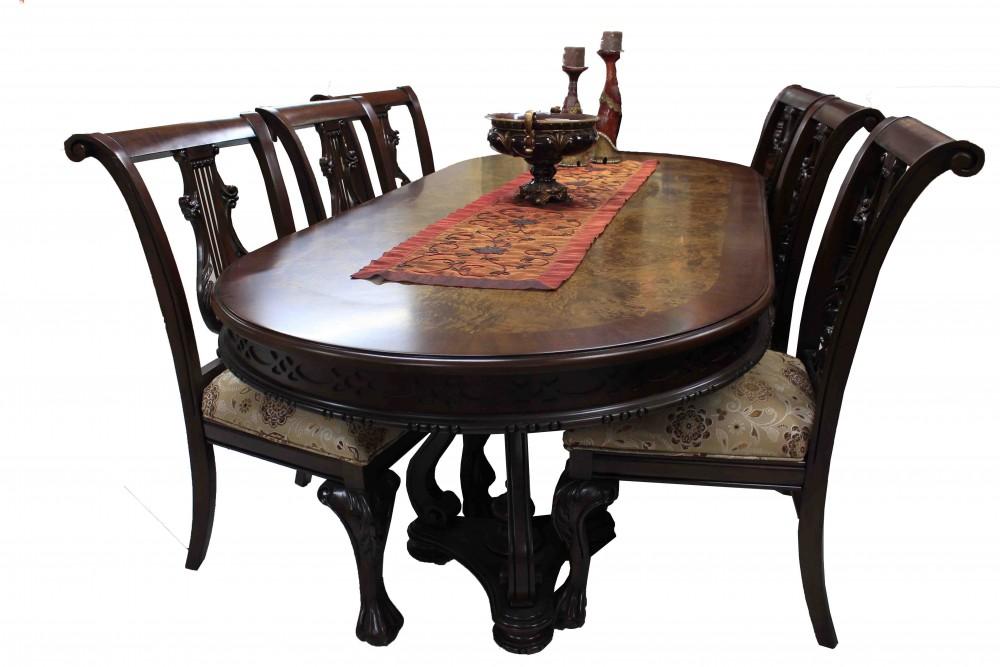 Comedor modelo venecia florence art muebles finos en m xico for Comedores finos