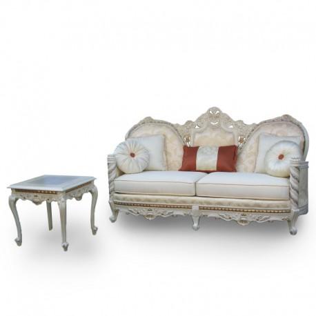 Sof modelo par s florence art muebles finos en m xico for Ofertas comedores paris