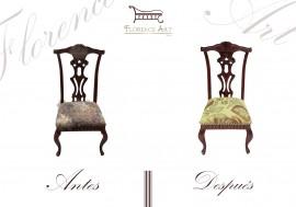 Restauracion de silla
