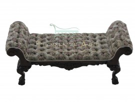 Pie de cama modelo Luis XV
